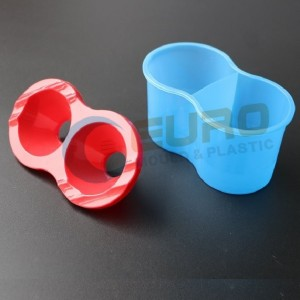 Plastic paint pot mould