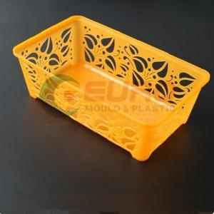 plastic basket organzier mold