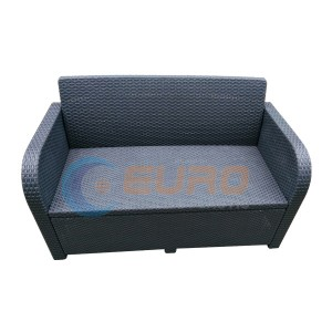 mobîlya Outdoor sofa bi rayagiştî re